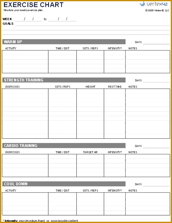 strength and conditioning templates - 10 fitness schedule template fabtemplatez