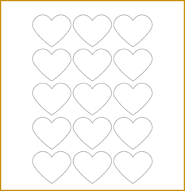 hearts free printable blank label template 651632