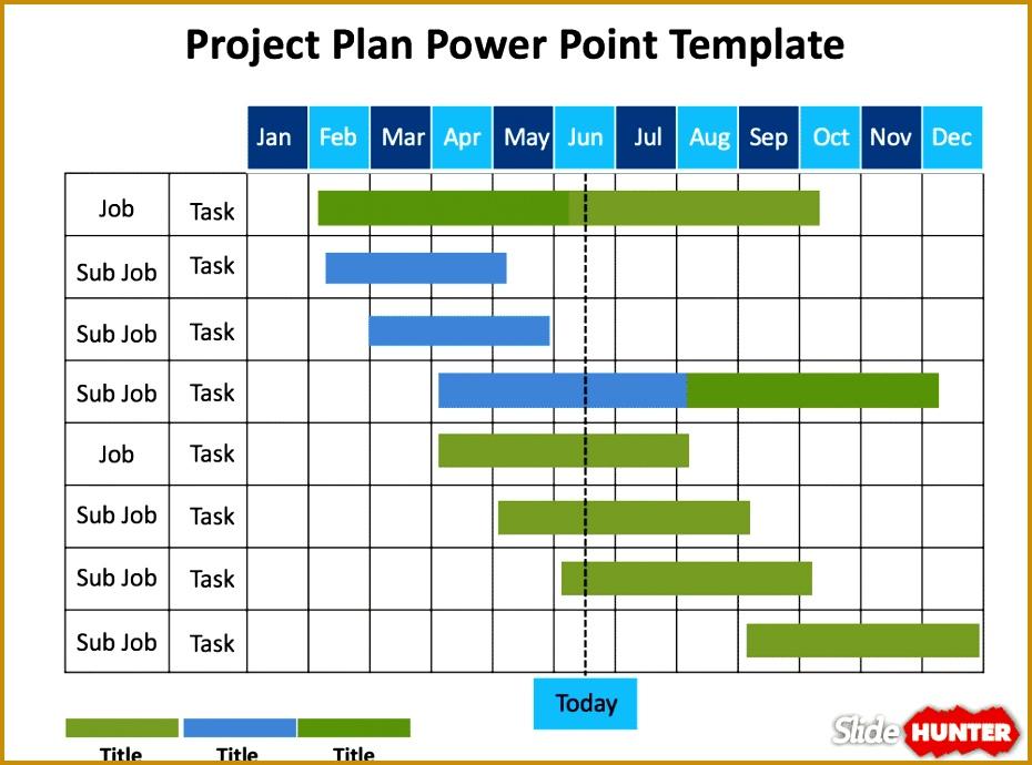 4 Gantt Chart Sheet