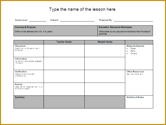 lesson plan template 1417 507673