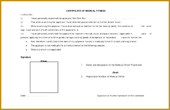 3 Medical Certificate Template