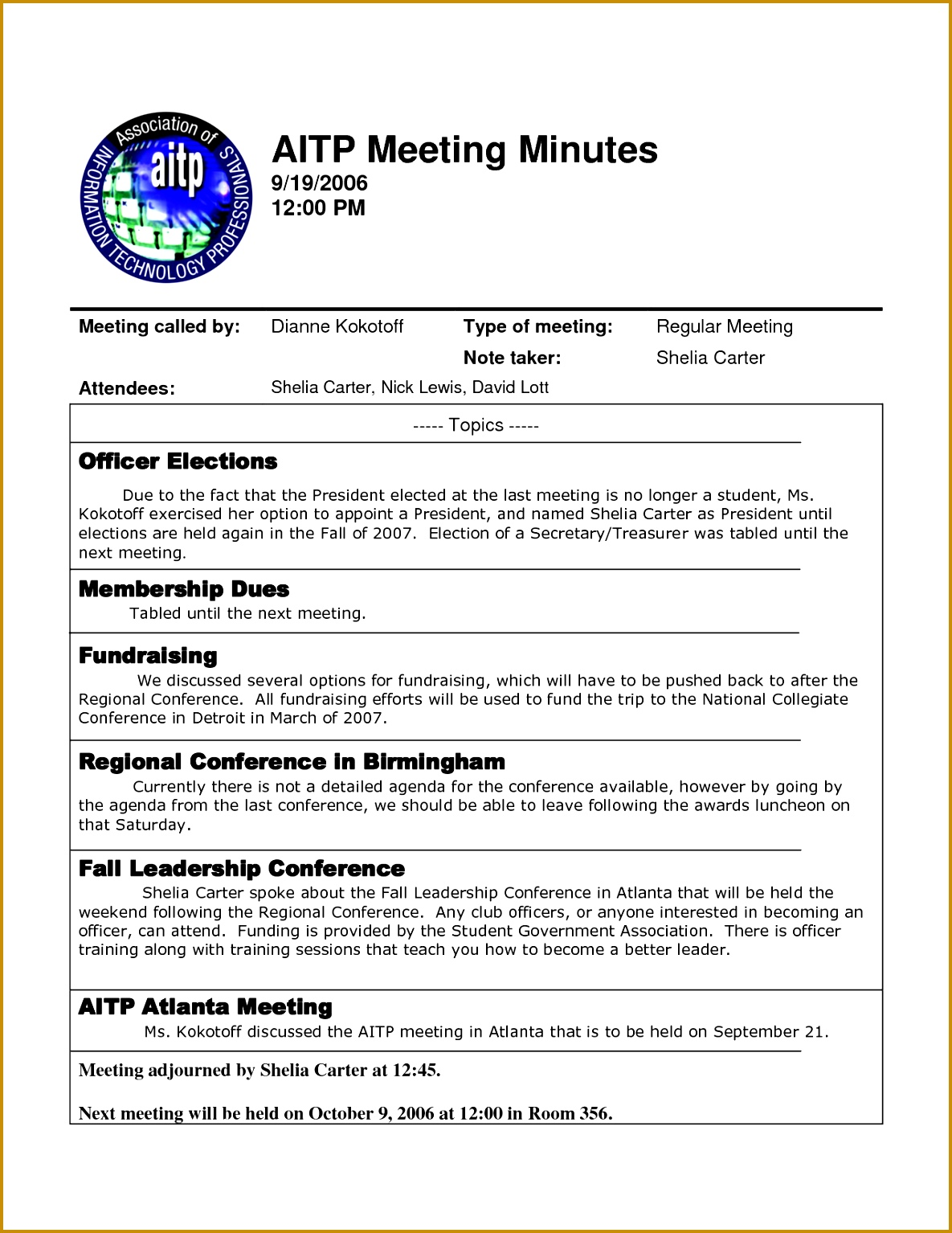 post template of minutes of meetings examples 5155 15341185