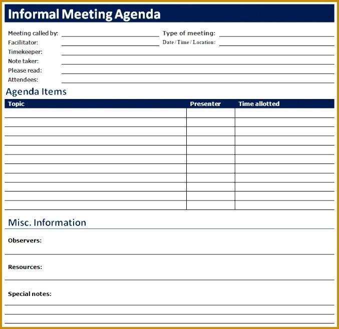 sample meeting agenda templates 658677