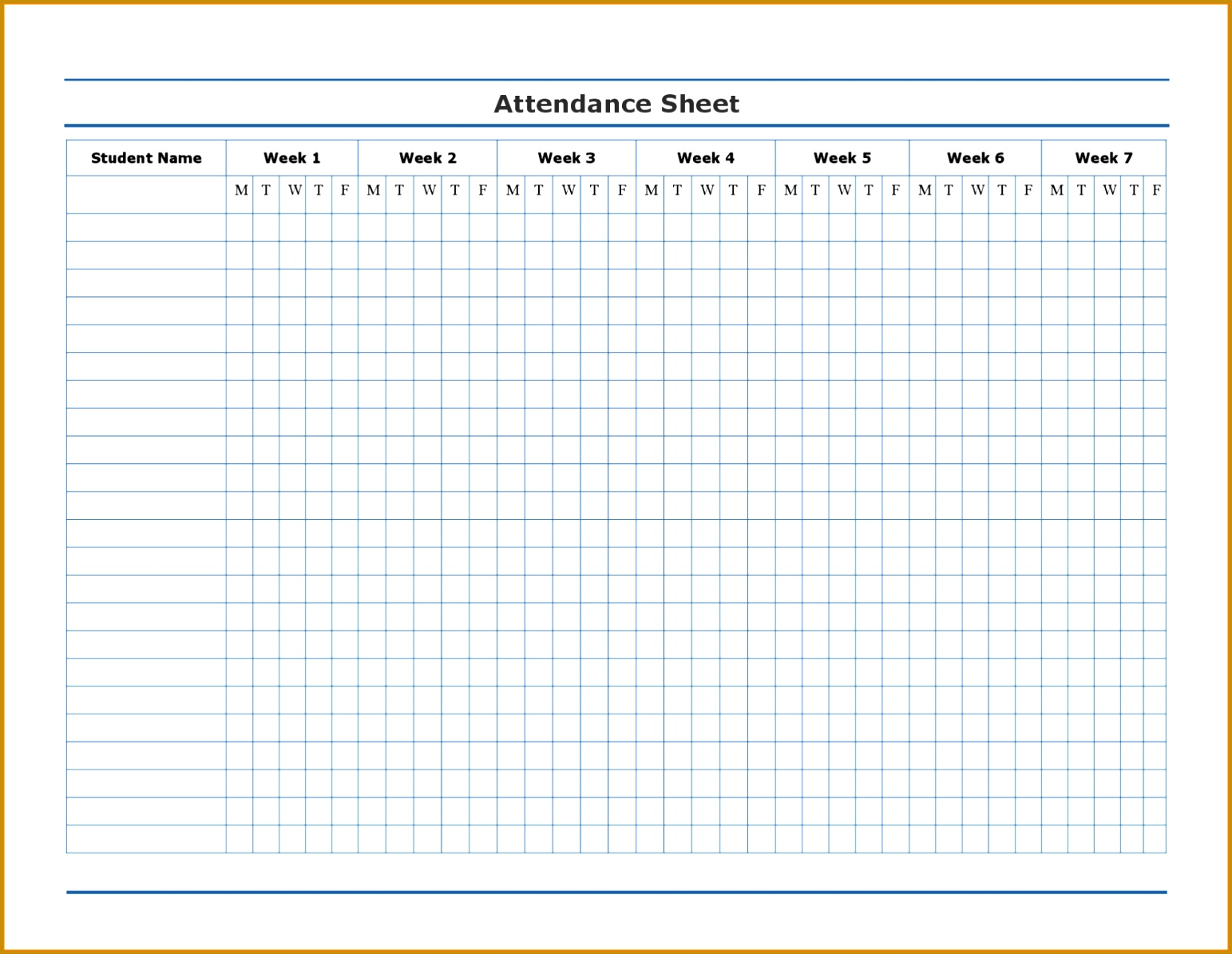 Employee Attendance Sheet & Daily Weekly Monthly Calendar 2017 11951543