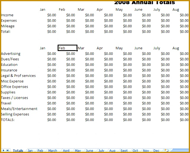 Expense Report Template For Excel 516643