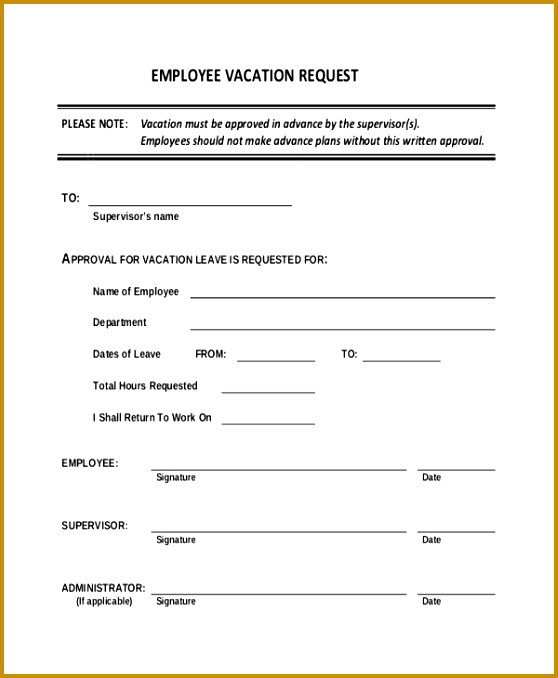 overtime request form