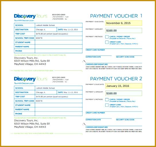 payment vouchers template 511544