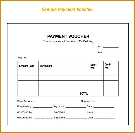 payment voucher template 530539