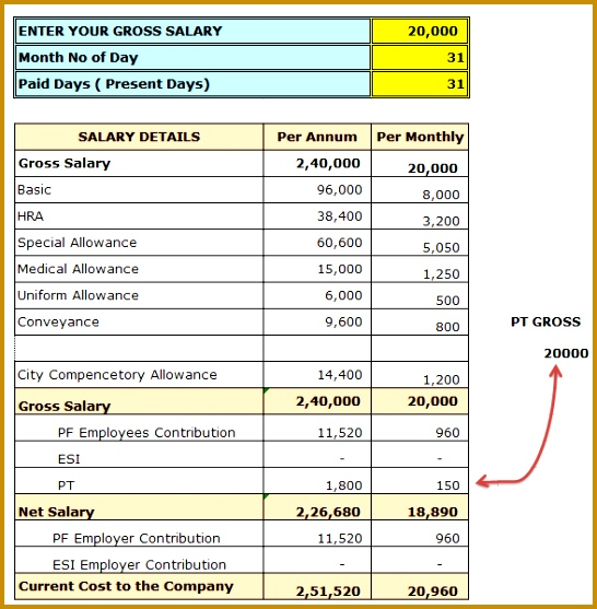 Payslip Template 15310 Payslip Sample Excel format Malaysia Pay Slip ...