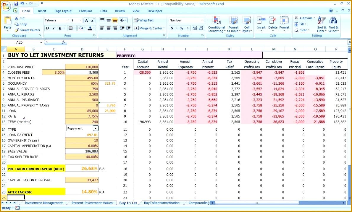 personal finance plan template