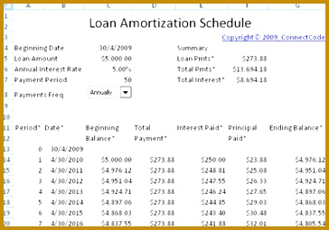 5 personal loan amortization schedule fabtemplatez