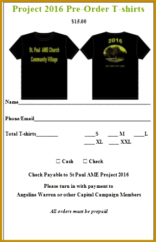 2016 T Shirt Order Form Template Free Download 473306