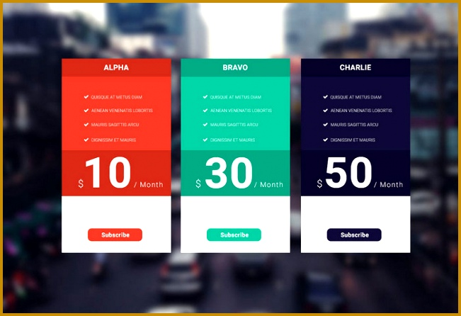 flat color price template free psd 446651