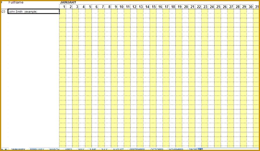 employee attendance sheets 523898