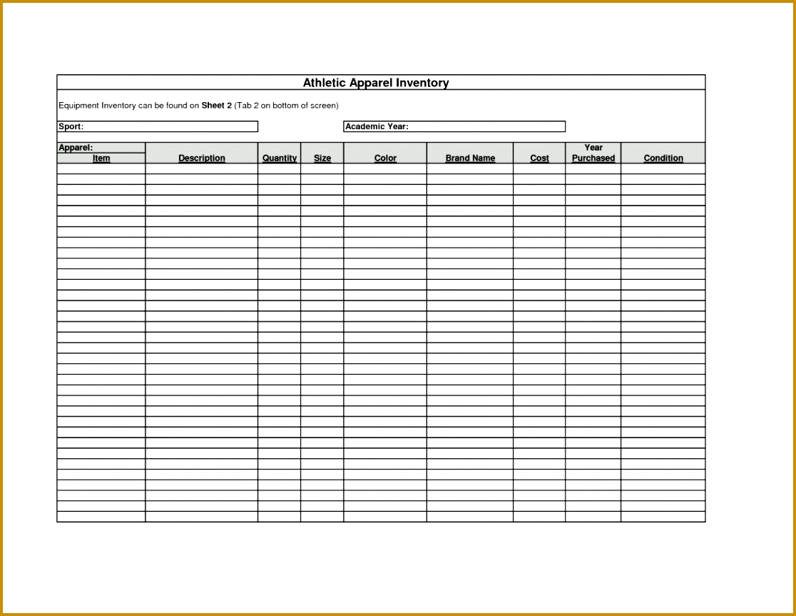 Business Inventory Spreadsheet With Free Printable Inventory Sheets Inventory Spreadsheet Template And Business Spreadsheet 8631116