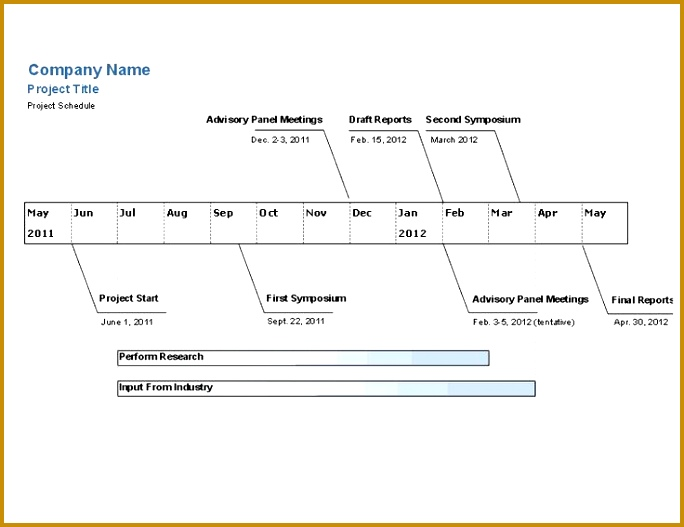 engineering project timeline template 527684