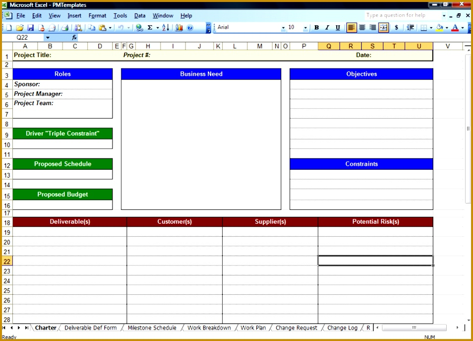 Excel Spreadsheets Help Free Download Project Management Spreadsheet Template 687954