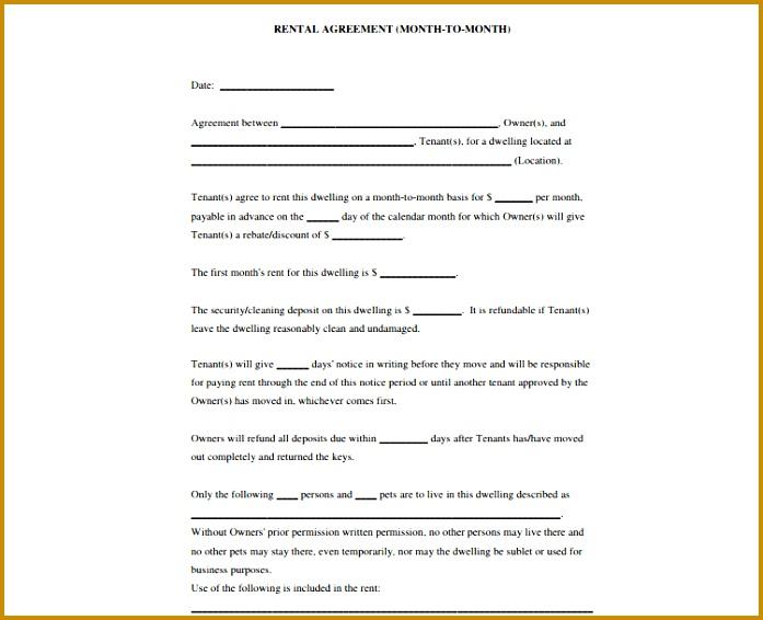 rental agreement template 566697