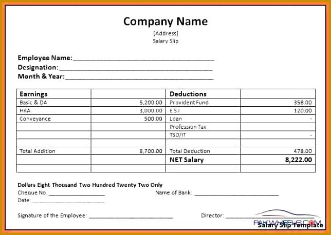 9 salary voucher sample 458644