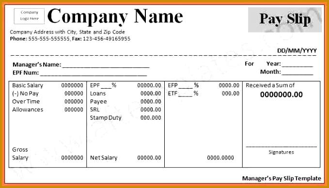 9 simple payslip format 388679