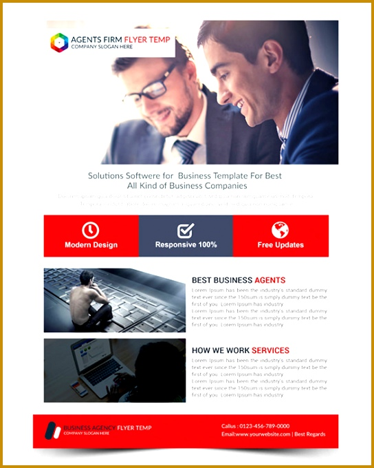 Sample Business Flyer 84378 11 Fabulous Free Business Flyer Templates