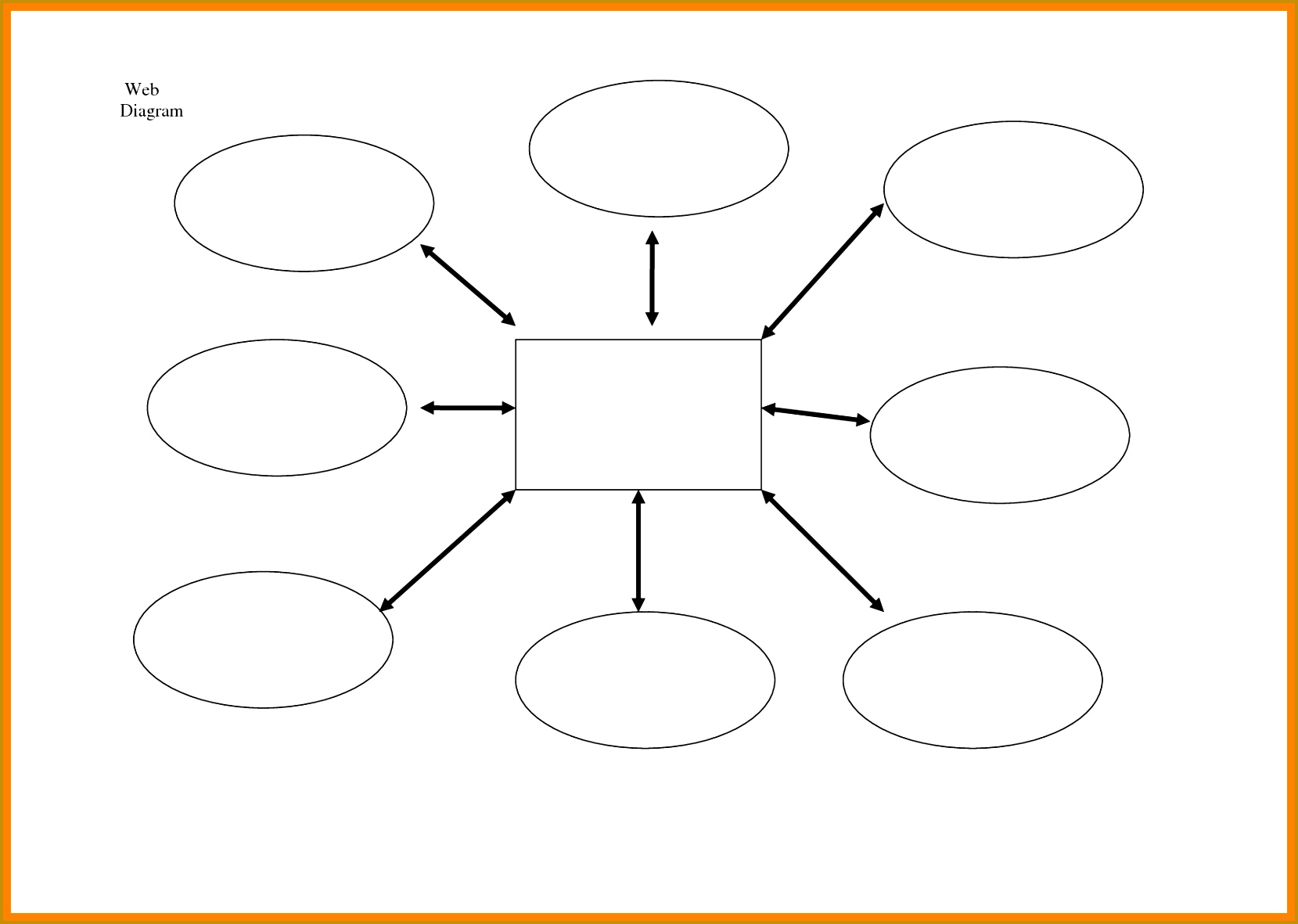 7 Sample Spider Chart Template