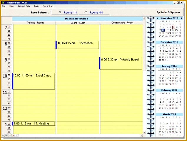 Conference Room Reservation Software 635478