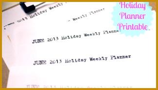 pleted June 2013 School Holiday Activity Planner Printable 186325