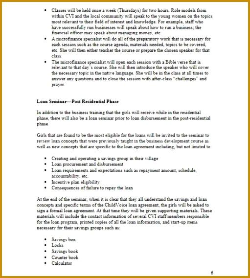4 Seminar Proposal Template Fabtemplatez