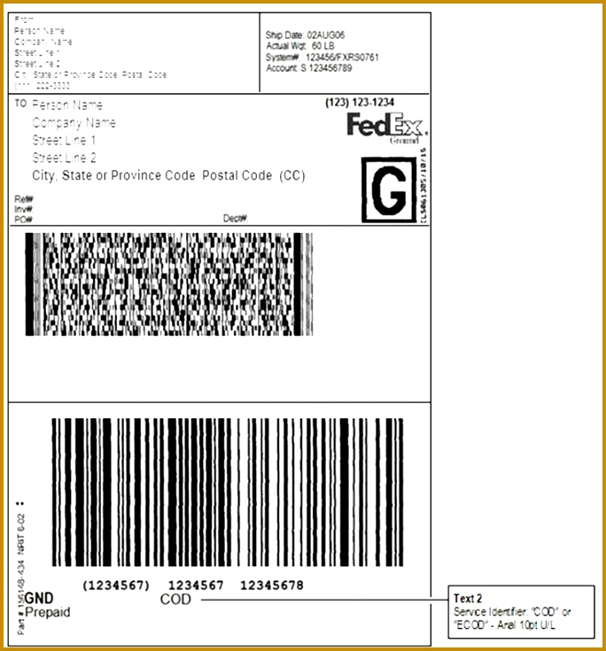 Fedex Label Template Word Image Collections Template Design Ideas - Fake shipping label template