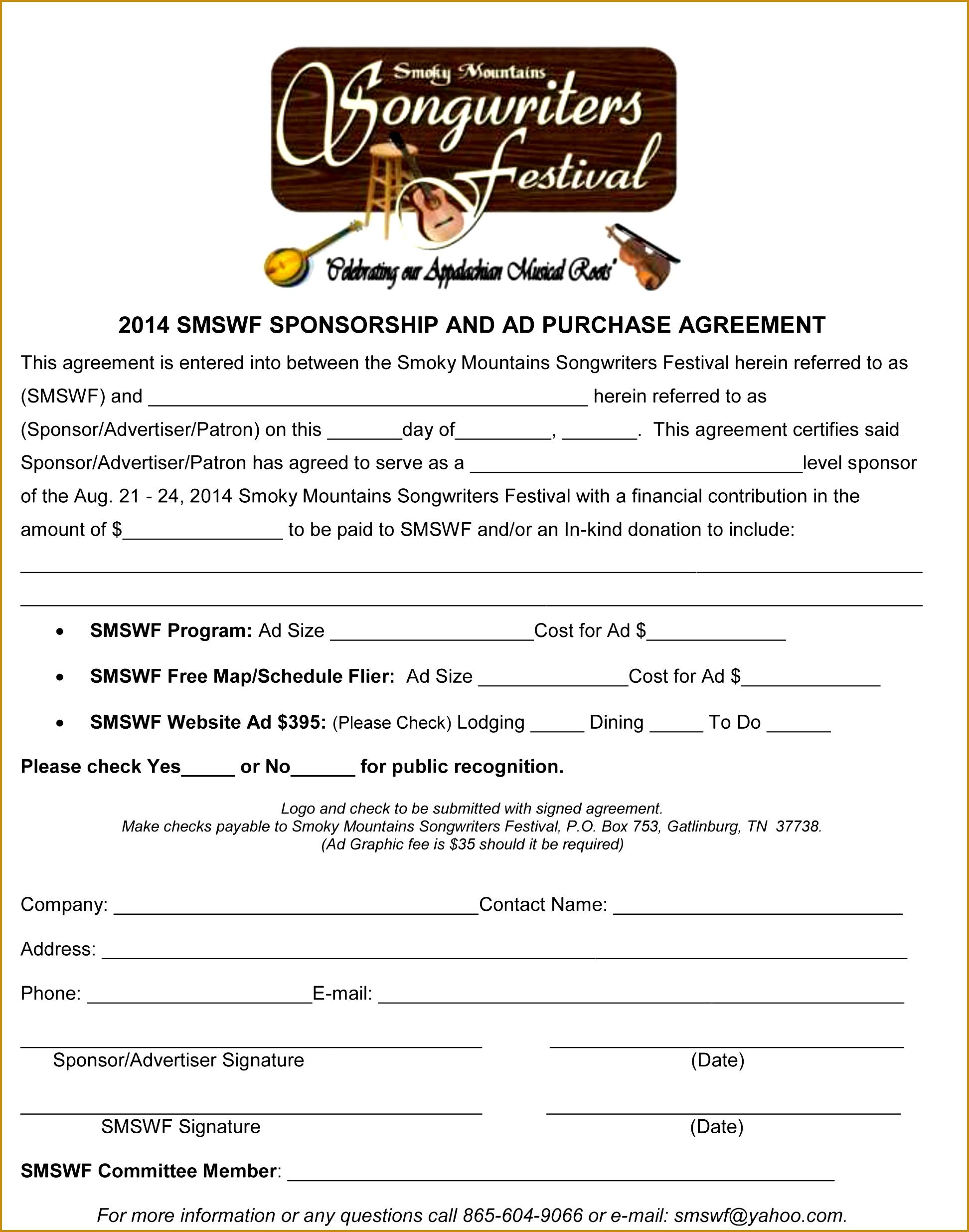 athlete sponsorship contract 24701944