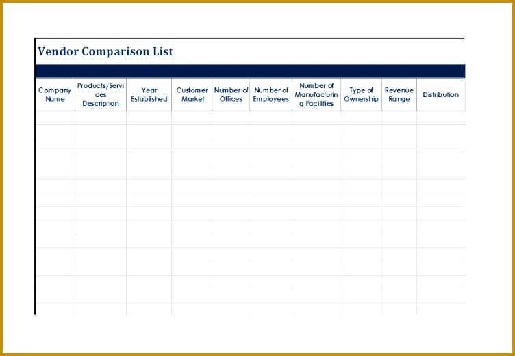 vendor list template 752521