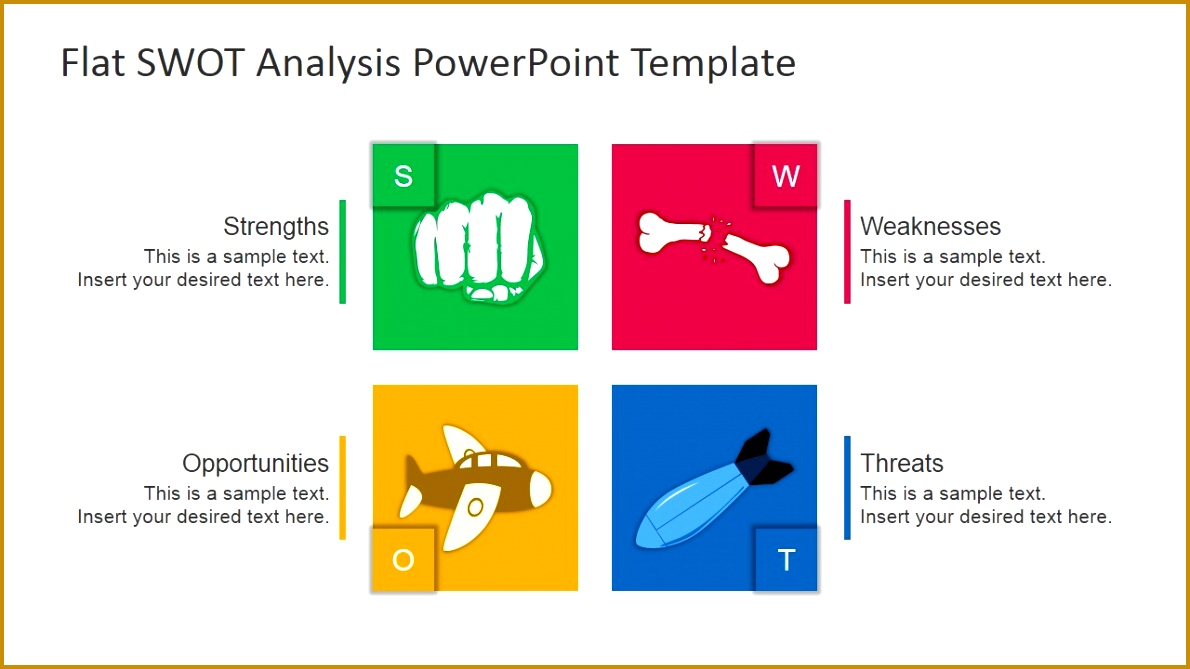 free swot ppt template 6691190