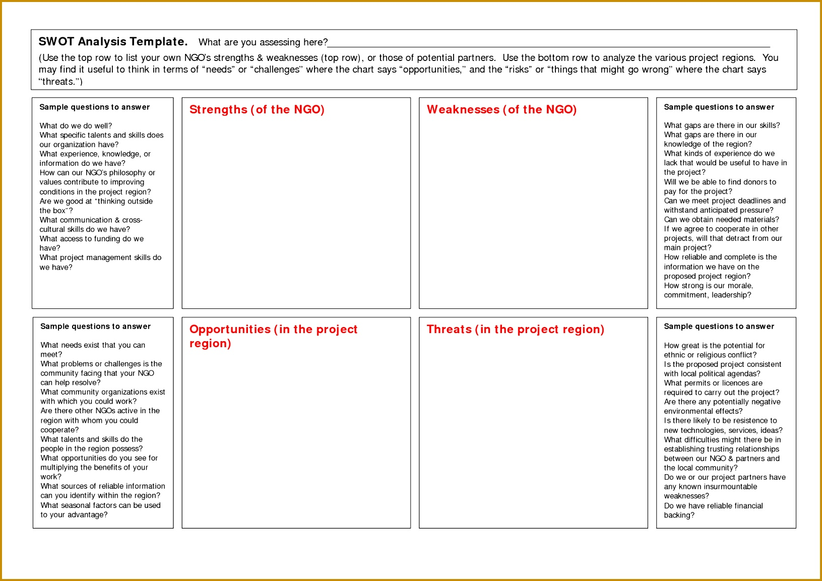 Blank Swot Analysis Template 11531631  Blank Swot Analysis Template