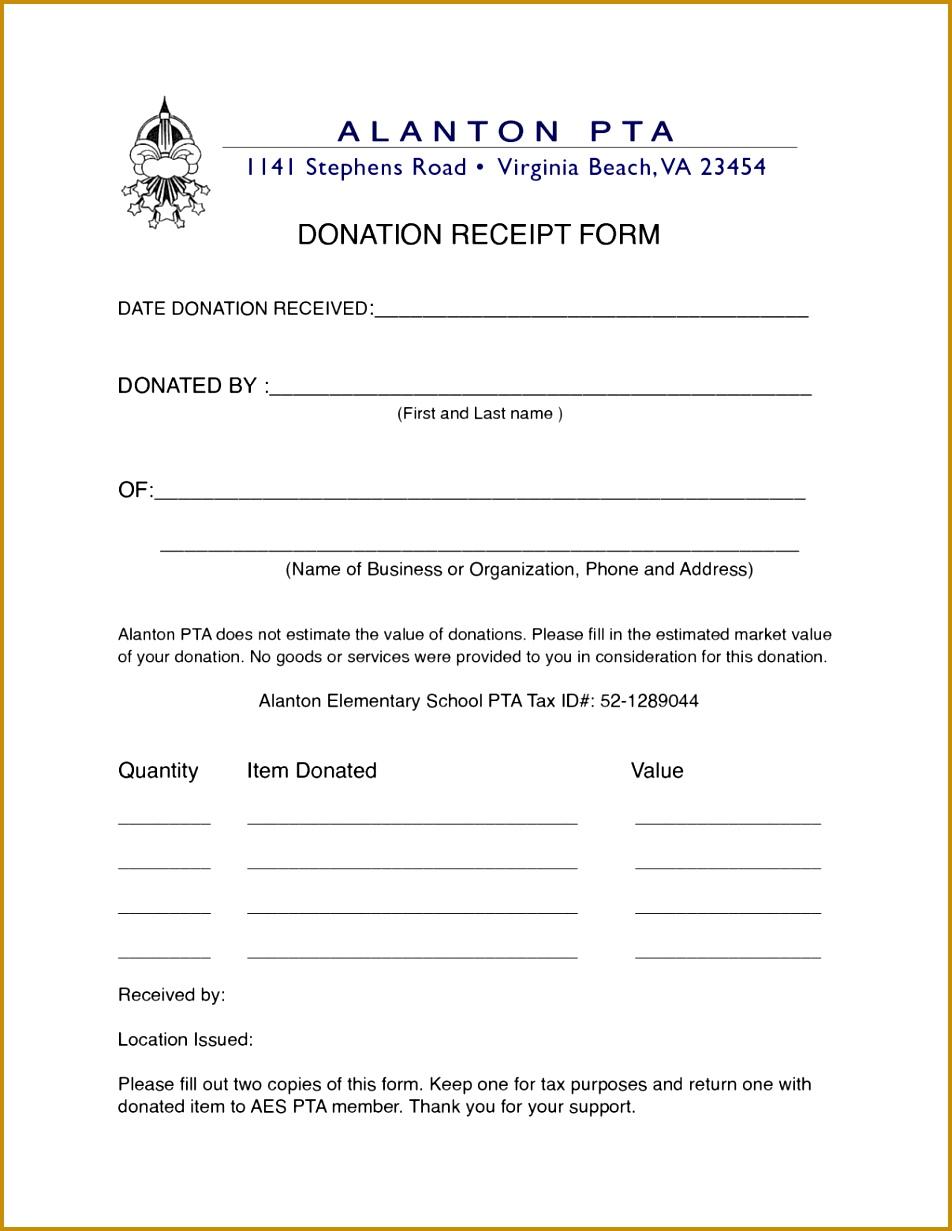non profit donation receipt letter 9521231
