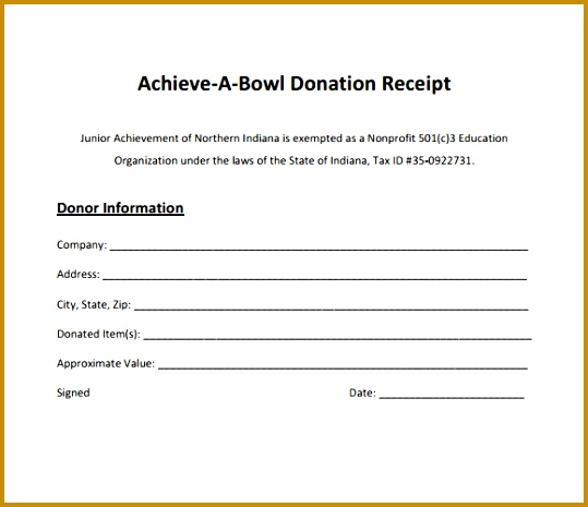 donation receipt forms 465539