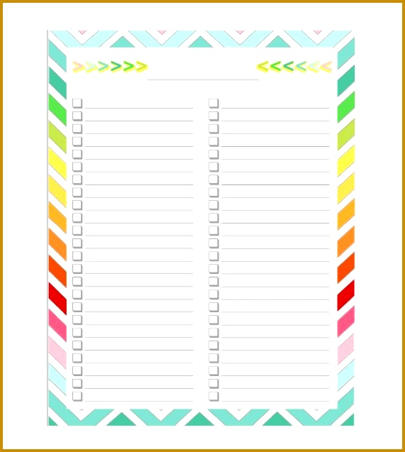 to do list checklist templates 637571