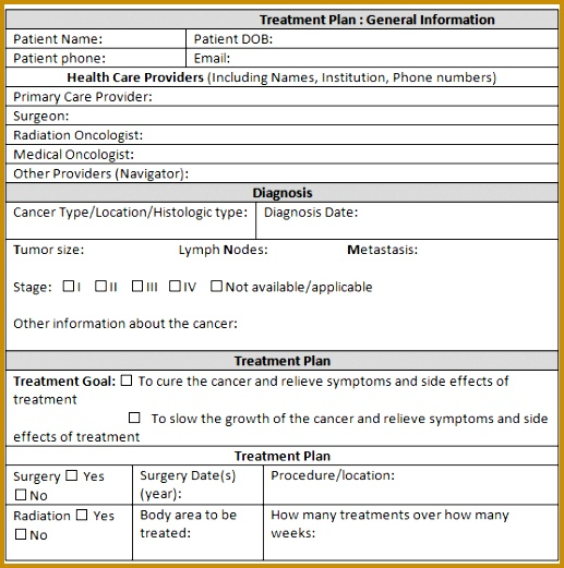 treatment plan template 6941 521517