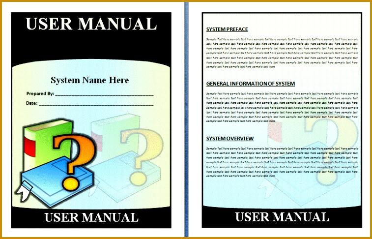 User manual microsoft word template - Herunterladen von kostenloser ...