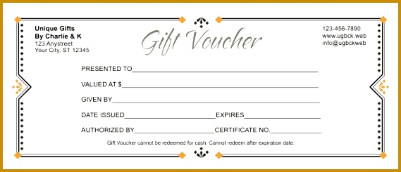 blank vouchers template t certificate templates free printable 245569