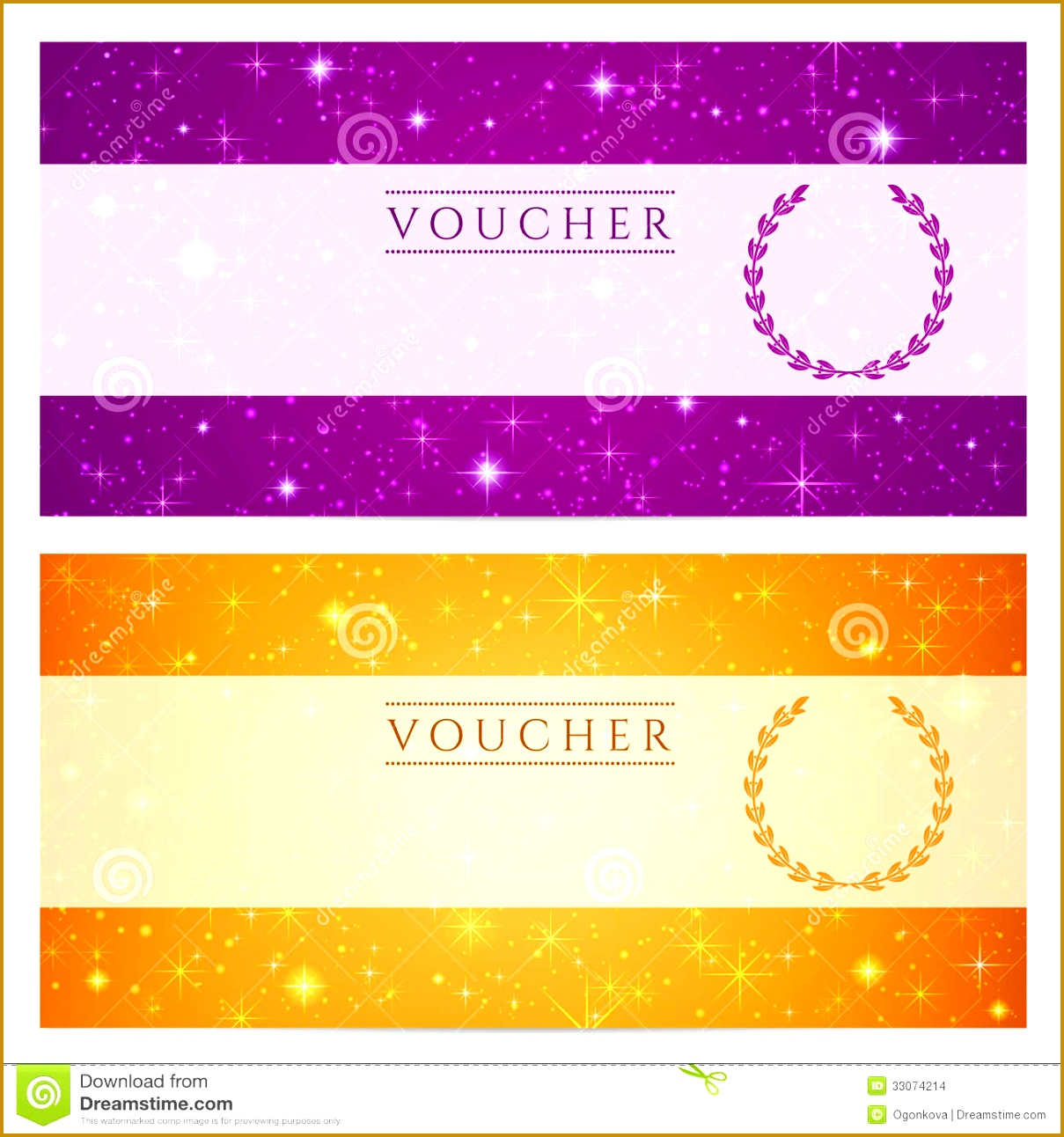 stock images t certificate voucher coupon template stars sparkling twinkling night sky background design invitation banner ticket image 12091292