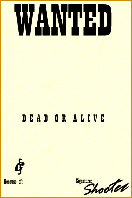blank wanted poster 816544