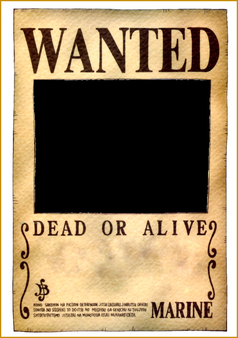 e Piece Wanted Poster 1116788