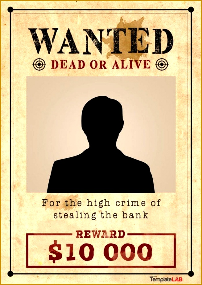 wanted poster template 920651
