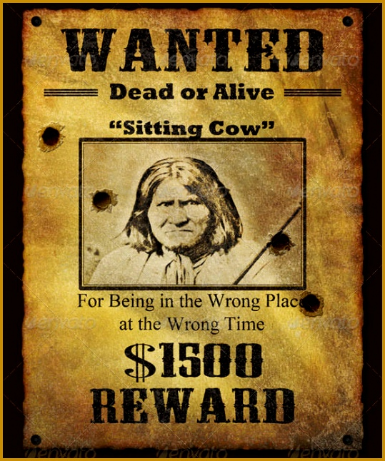 wanted poster template 539646