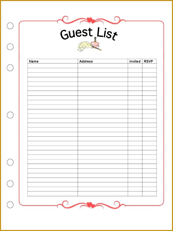 wedding menu template 952714