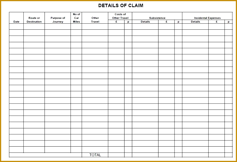 2alternative Expenses Claim Form2 830568