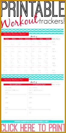 Print Out A Workout Calendar 219441
