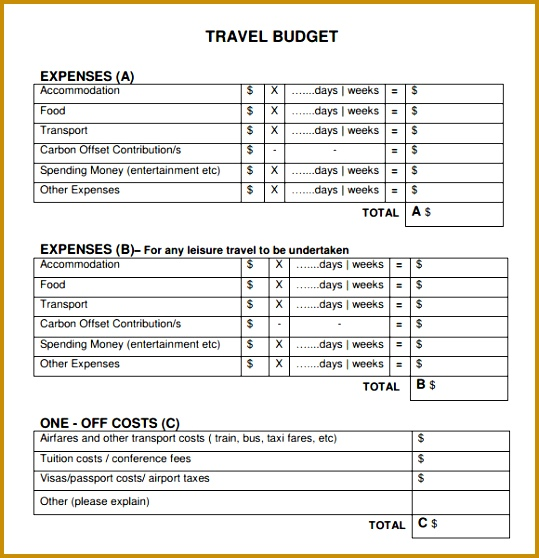 travel bud template 558539