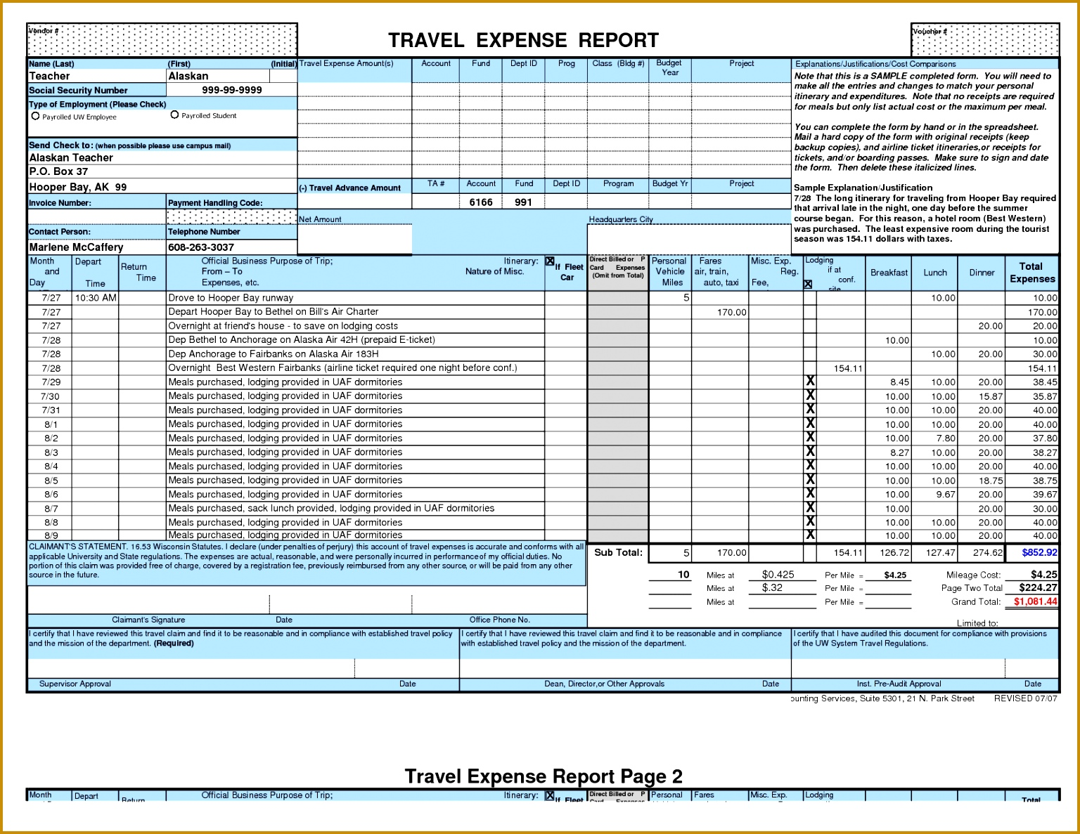 4 how to create a expense report in excel